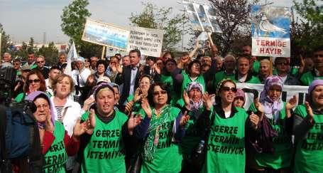 Gerzeliler seslerini Ankara'da yükseltti