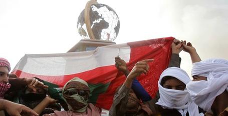 Umman'da isyan sürüyor