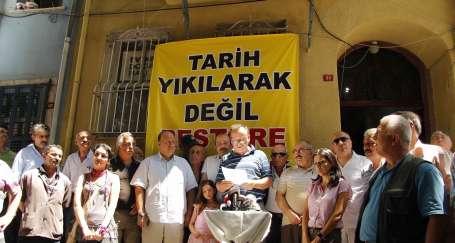 'Tarih yıkılarak değil, restore edilerek korunur'