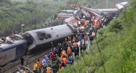 Çin'de yine hızlı tren kazası