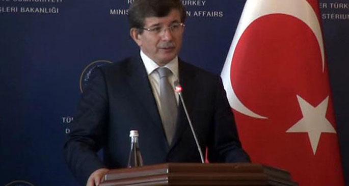 Davutoğlu Ermenistan\