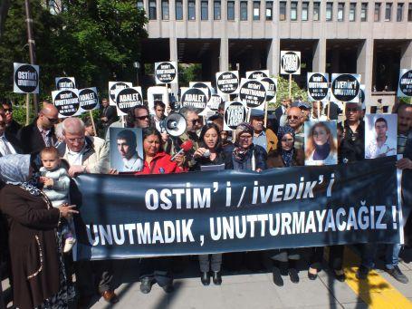 OSTİM ve İvedik davası 13 Hazirana ertelendi