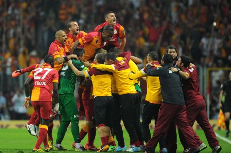 Galatasaray 19. kez şampiyon