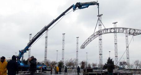İstanbul Newroz'u için 1,5 milyon kişilik ses sistemi