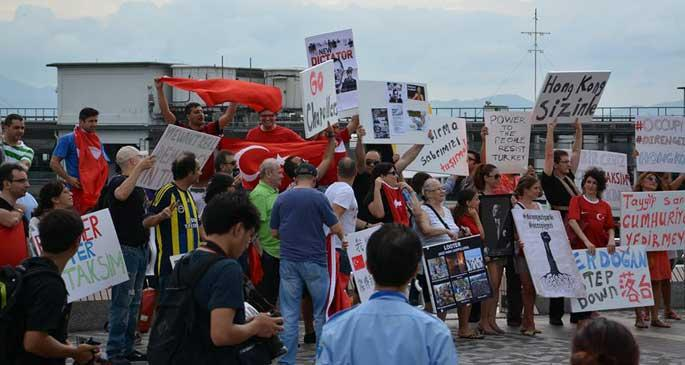 Diren Hong Kong, Gezi seninle!