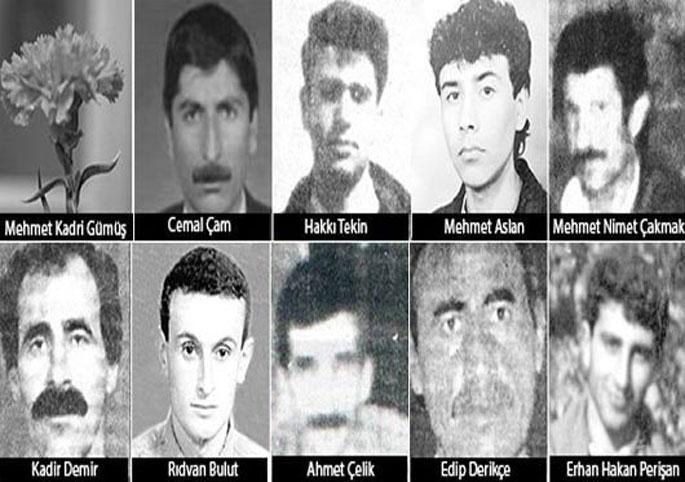 Diyarbakır cezaevi katliamına 5\'şer yıl ceza