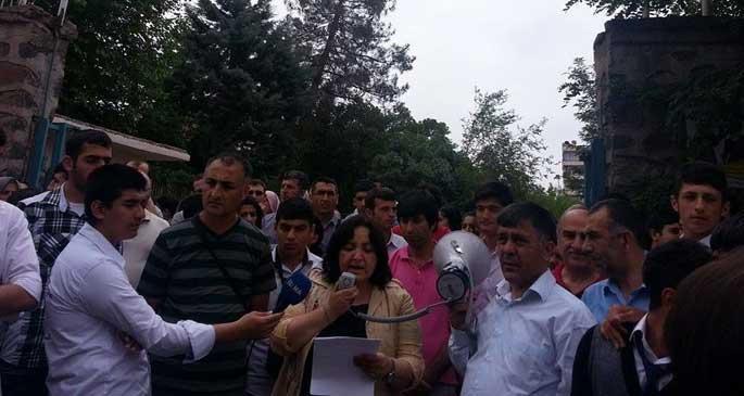 Diyarbakır'da öğretmene saldırı