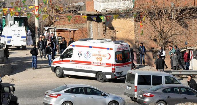 Diyarbakır\'da patlama: 2 yaralı