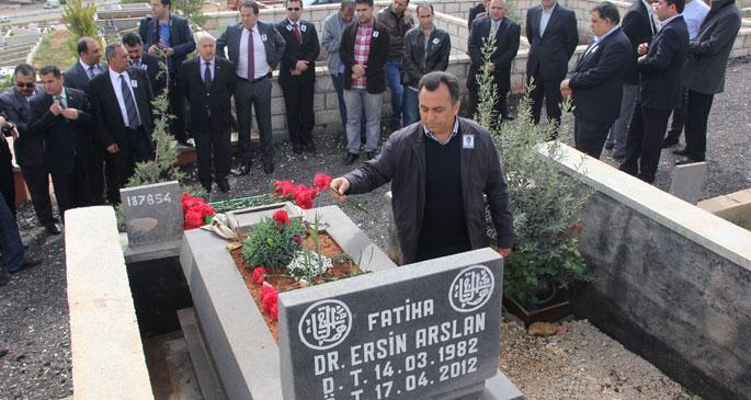 Doktor Ersin Arslan anıldı