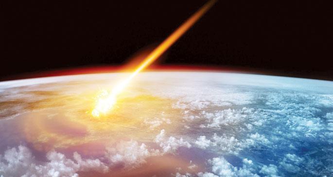 Dünya'ya 14 yılda 26 asteroid çarpmış