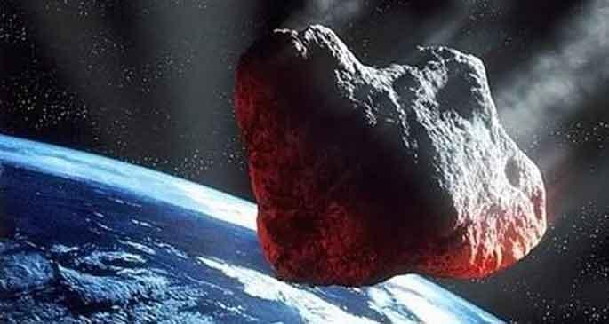'Dünyaya asteroid çarpabilir'