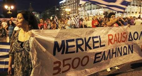 Merkel, hak ettiği gibi karşılandı!
