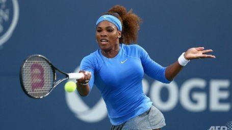 Serena ter attı