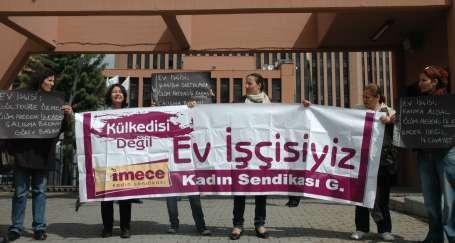 Ev işçisi kadınlardan Bakan'a: 'Duy sesimizi'