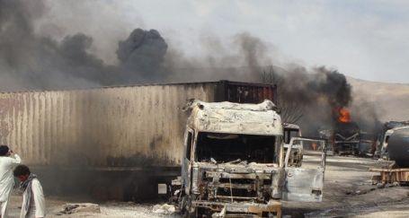 22 NATO tankeri patlatıldı