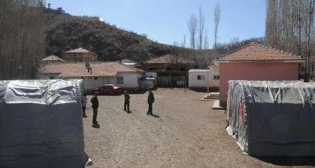 Çorum'da heyelan: 21 ev tahliye edildi