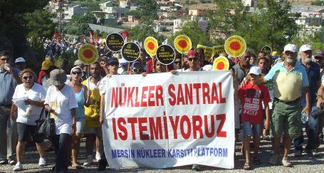 Akkuyu'da nükleer santrale 'hayır'