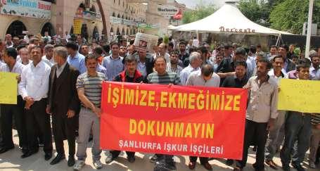 İŞKUR işçileri eylemde