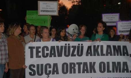 'Tecavüz davalarındaki utanmazlık sürmesin'
