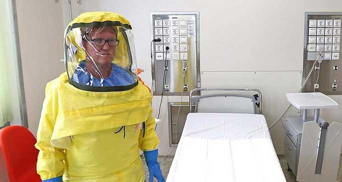 Ebola virüsü Avrupa\'ya da ulaştı