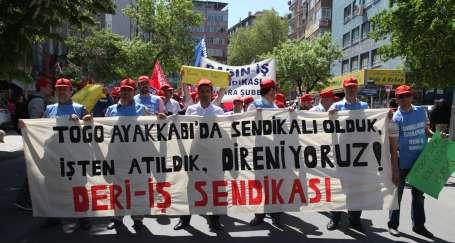 TOGO işçileri yine gözaltına alındı