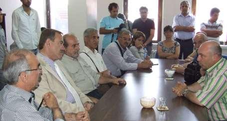 Kürkçü'den Soda Sanayi grevine destek