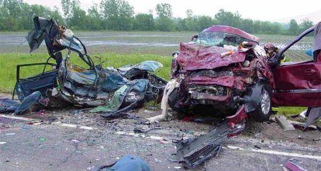 Trafik kazalarında maddi kayıplar da büyük