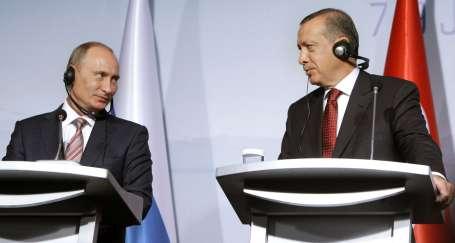 Erdoğan Putin'le Suriye'yi konuştu
