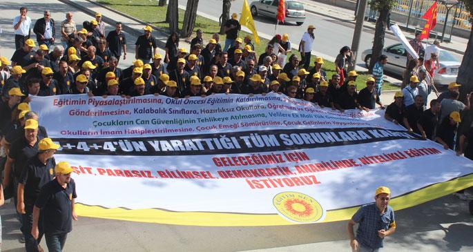 Eğitimciler bugün Ankara'da
