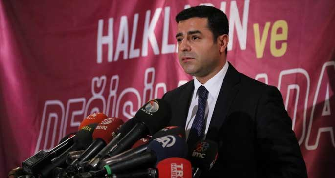 EMEP: Cumhurbaşkanı adayımız Selahattin Demirtaş