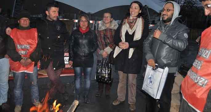 EMO'dan Hacettepe işçilerine destek