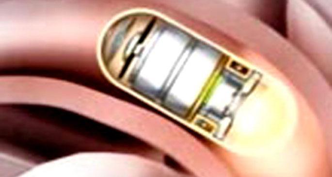 Endoskopi korkusuna  kapsüllü  çözüm