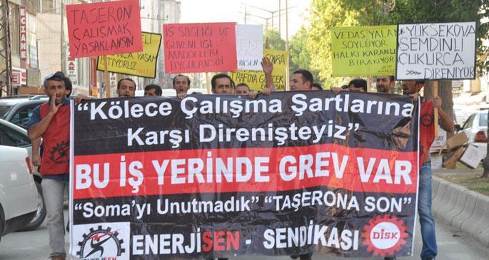 Enerji işçileri protokol iptaline karşı eylem başlatıyor