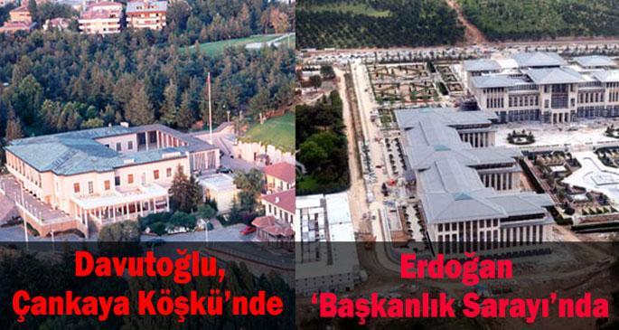 Erdoğan, Çankaya Köşkü\