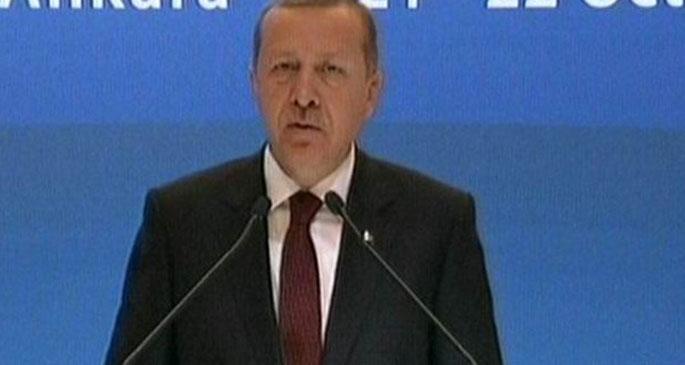 Erdoğan: Kobani\'de kimse yok!