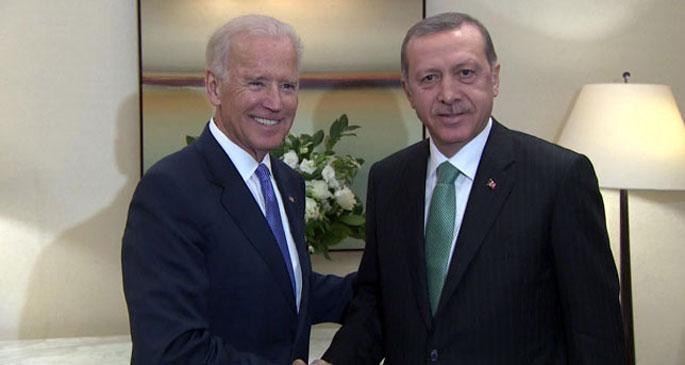 Erdoğan ve ABD Başkan Yardımcısı Biden\'le görüştü