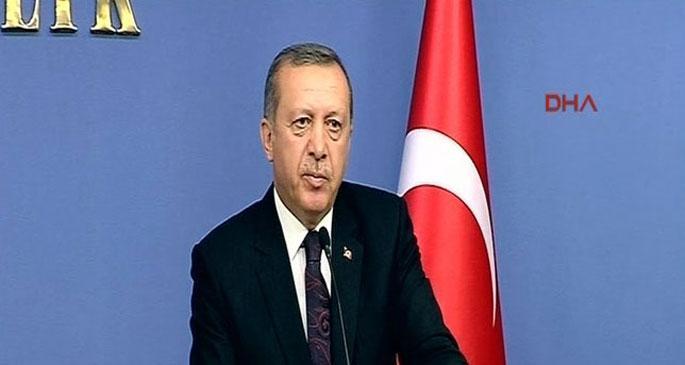 Erdoğan'dan bayrak tehdidi
