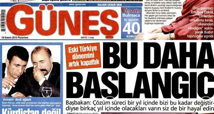 Erdoğan'ın Diyarbakır gezisi manşetlerde