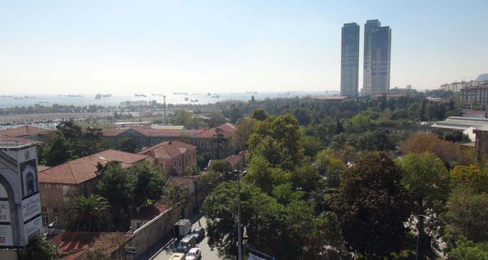 Ermenilere iade edilen arazi park alanına çevrildi