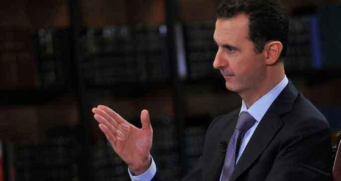 Esad: Silah desteği bitmeli