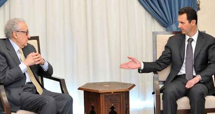Esad: Terörist gruplara silah desteği durmalı