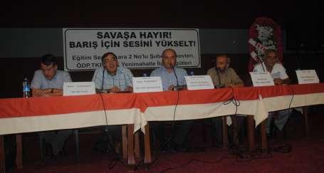 'Savaşa karşı bütünlüklü mücadele'