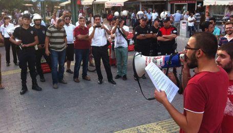 Tarsus'ta polis saldırısı, Mersin