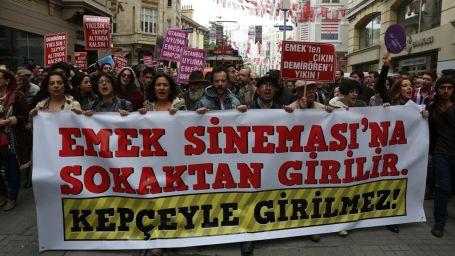 Emek protestosuna dava: 6 yıl hapis istemi!