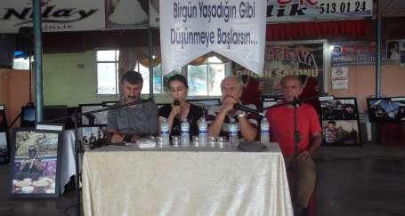 Samandağ Belediyesi 'Solda Birlik' paneli düzenledi