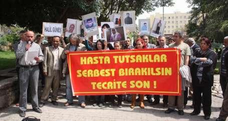 'Hasta tutukluları serbest bırakın'
