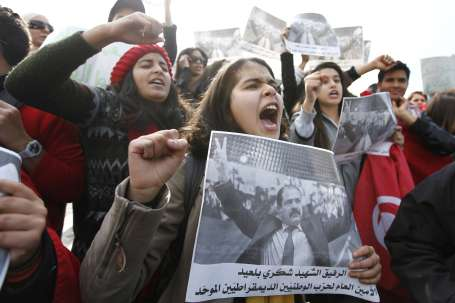 Belaid'e saldıranlar ölünce 'saygı' gösterdiler