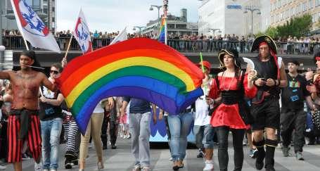 Stockholm'de Eşcinseller Festivali