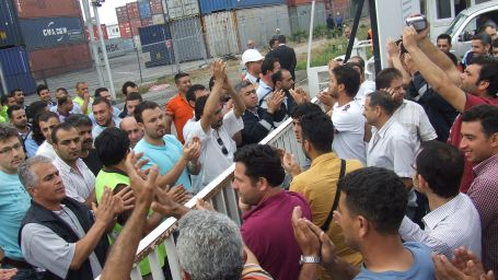 Liman işçileri: Sendika daha kararlı olmalı
