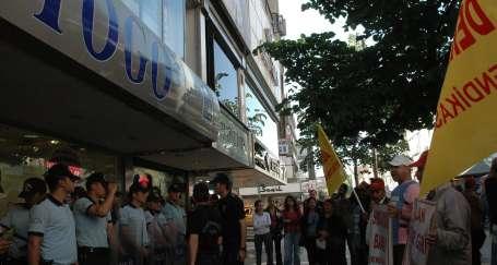 Togo işçileri Ankaralı emekçilerden destek istiyor